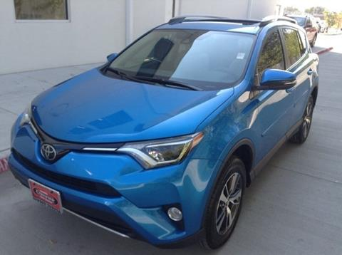 2017 Toyota RAV4 for sale at Cowboy Toyota in Dallas TX