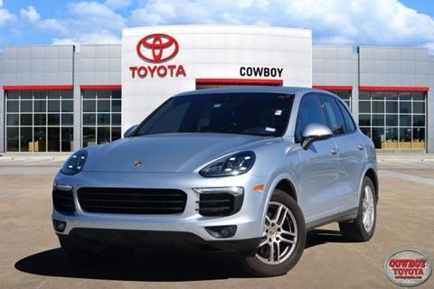 2017 Porsche Cayenne for sale in Dallas, TX