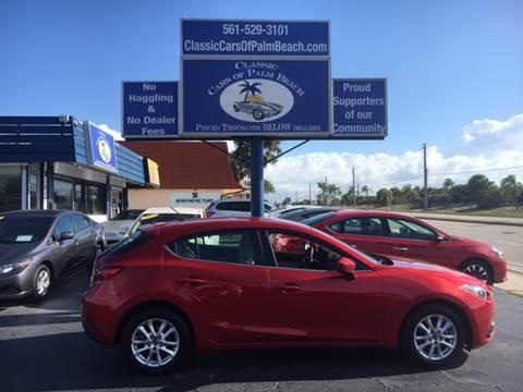 2016 Mazda MAZDA3 for sale in Jupiter, FL