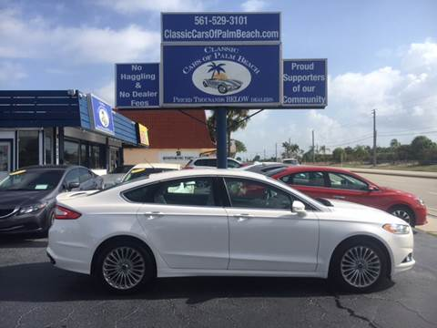 2016 Ford Fusion for sale in Jupiter, FL