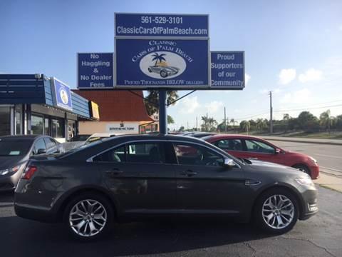 2016 Ford Taurus for sale in Jupiter, FL