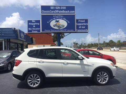 2014 BMW X3 for sale in Jupiter, FL