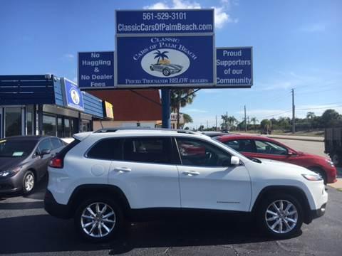 2017 Jeep Cherokee for sale in Jupiter, FL