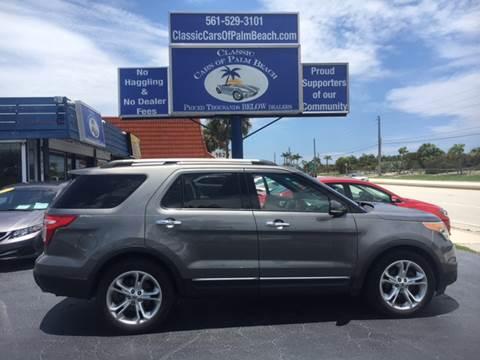 2011 Ford Explorer for sale in Jupiter, FL