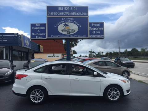 2016 Ford Focus for sale in Jupiter, FL
