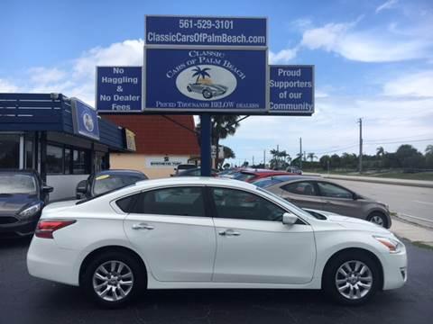 2015 Nissan Altima for sale in Jupiter, FL