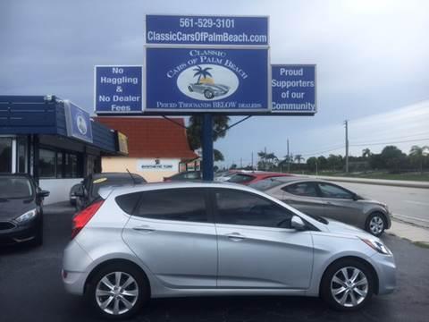 2012 Hyundai Accent for sale in Jupiter, FL