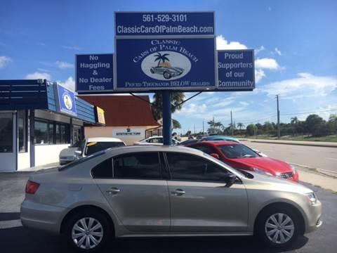 2013 Volkswagen Jetta for sale in Jupiter, FL
