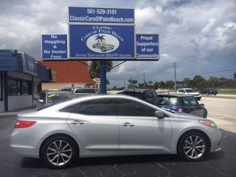 2017 Hyundai Azera for sale in Jupiter, FL