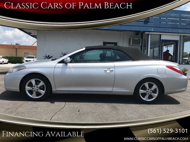 2008 Toyota Camry Solara For Sale At Classic Cars Of Palm Beach In Jupiter  FL