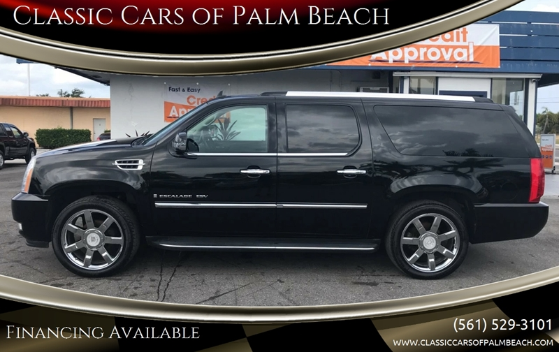 2007 Cadillac Escalade Esv In Jupiter Fl Classic Cars Of Palm Beach