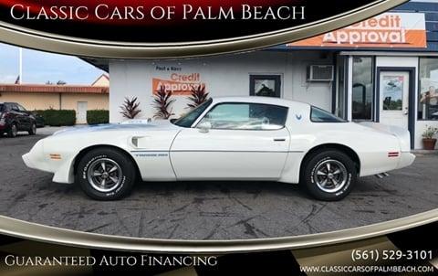 1981 Pontiac Firebird for sale in Jupiter, FL