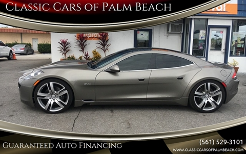 2012 Fisker Karma for sale in Jupiter, FL