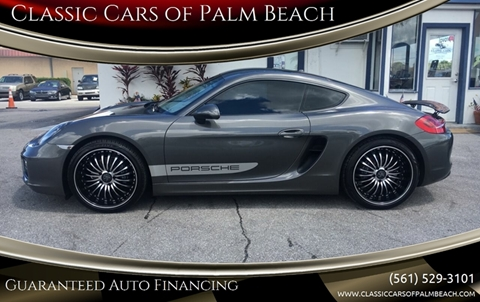 2015 Porsche Cayman for sale in Jupiter, FL