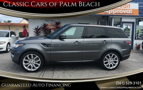 2014 Land Rover Range Rover Sport for sale in Jupiter, FL
