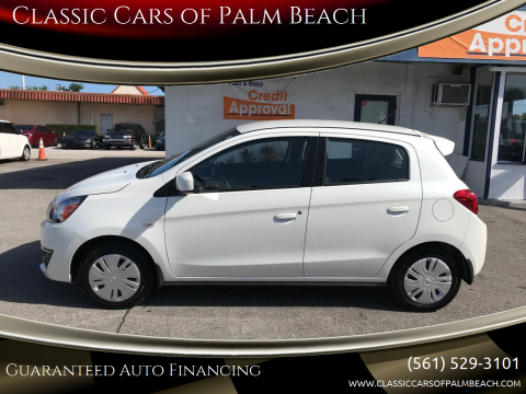 2019 Mitsubishi Mirage ES for sale at Classic Cars of Palm Beach in Jupiter FL