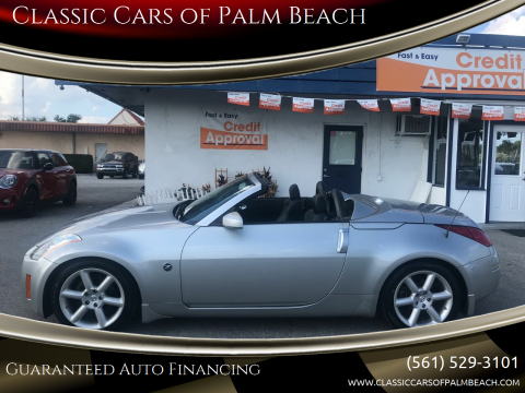 2005 Nissan 350Z Grand Touring for sale at Classic Cars of Palm Beach in Jupiter FL