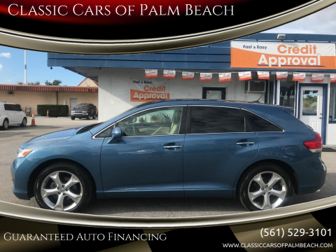 2009 Toyota Venza FWD V6 for sale at Classic Cars of Palm Beach in Jupiter FL
