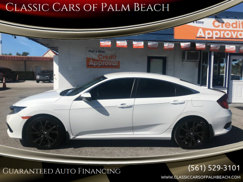 2019 Honda Civic Sport for sale at Classic Cars of Palm Beach in Jupiter FL