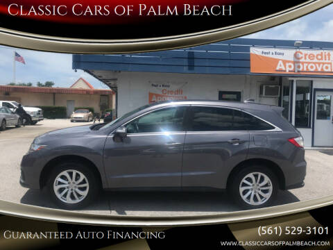 2017 Acura RDX for sale at Classic Cars of Palm Beach in Jupiter FL