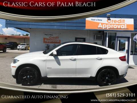 2009 BMW X6 for sale at Classic Cars of Palm Beach in Jupiter FL