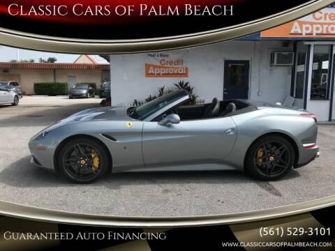 2015 Ferrari California T for sale at Classic Cars of Palm Beach in Jupiter FL