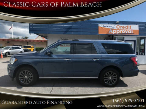 2020 Ford Expedition MAX for sale at Classic Cars of Palm Beach in Jupiter FL