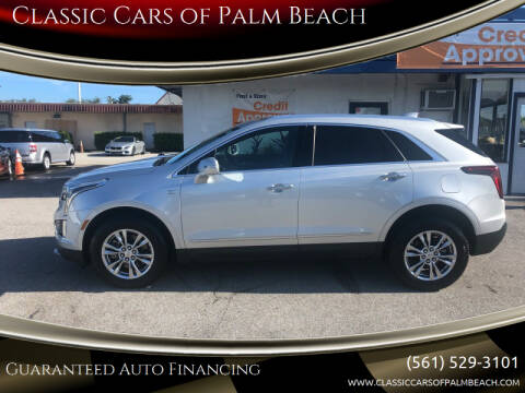 2020 Cadillac XT5 for sale at Classic Cars of Palm Beach in Jupiter FL