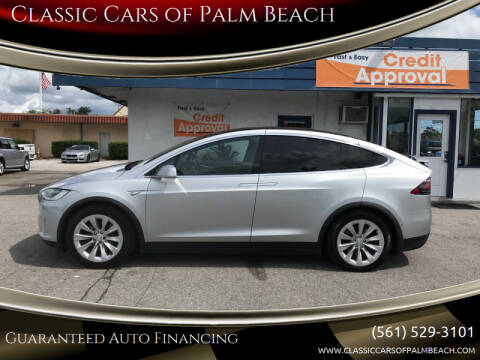 2016 Tesla Model X for sale at Classic Cars of Palm Beach in Jupiter FL