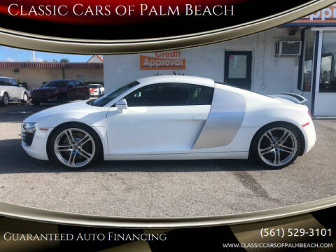 2009 Audi R8 for sale at Classic Cars of Palm Beach in Jupiter FL