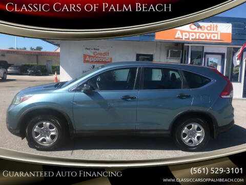 2014 Honda CR-V for sale at Classic Cars of Palm Beach in Jupiter FL