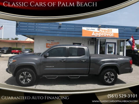 2017 Toyota Tacoma for sale at Classic Cars of Palm Beach in Jupiter FL