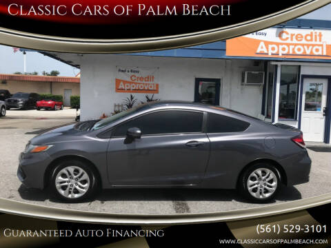 2014 Honda Civic for sale at Classic Cars of Palm Beach in Jupiter FL