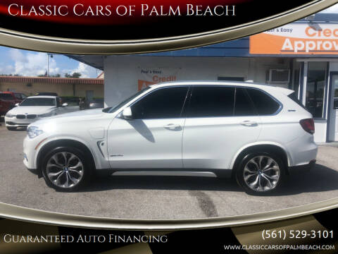 2018 BMW X5 for sale at Classic Cars of Palm Beach in Jupiter FL