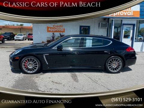 2014 Porsche Panamera for sale at Classic Cars of Palm Beach in Jupiter FL