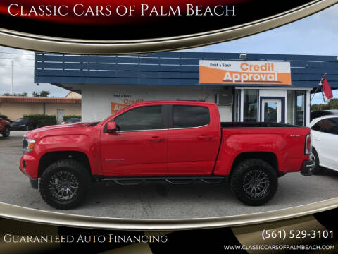 2019 GMC Canyon for sale at Classic Cars of Palm Beach in Jupiter FL