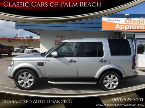 2015 Land Rover LR4 for sale at Classic Cars of Palm Beach in Jupiter FL