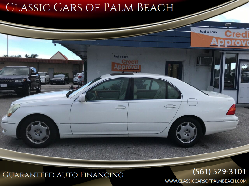 2002 Lexus LS 430 for sale at Classic Cars of Palm Beach in Jupiter FL