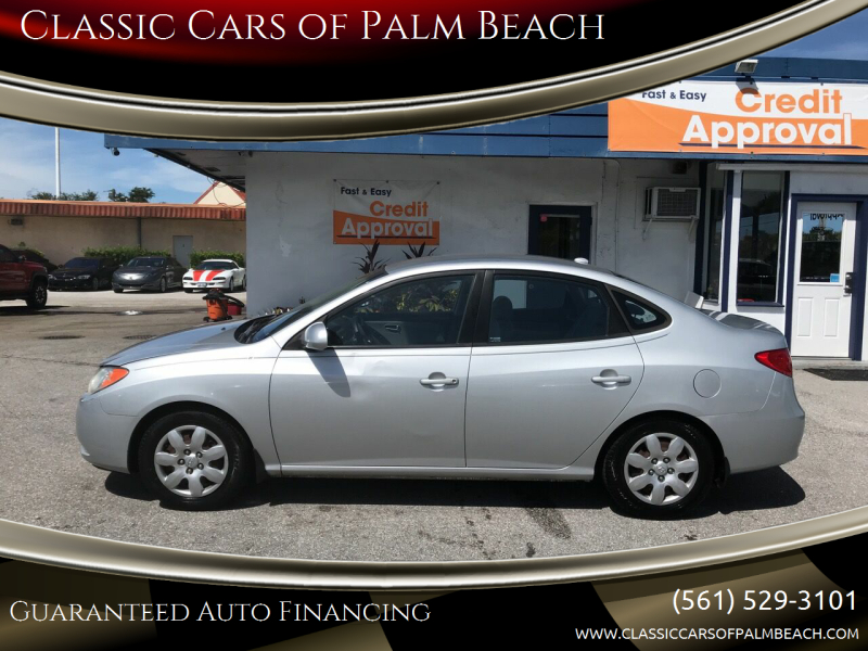 2008 Hyundai Elantra for sale at Classic Cars of Palm Beach in Jupiter FL