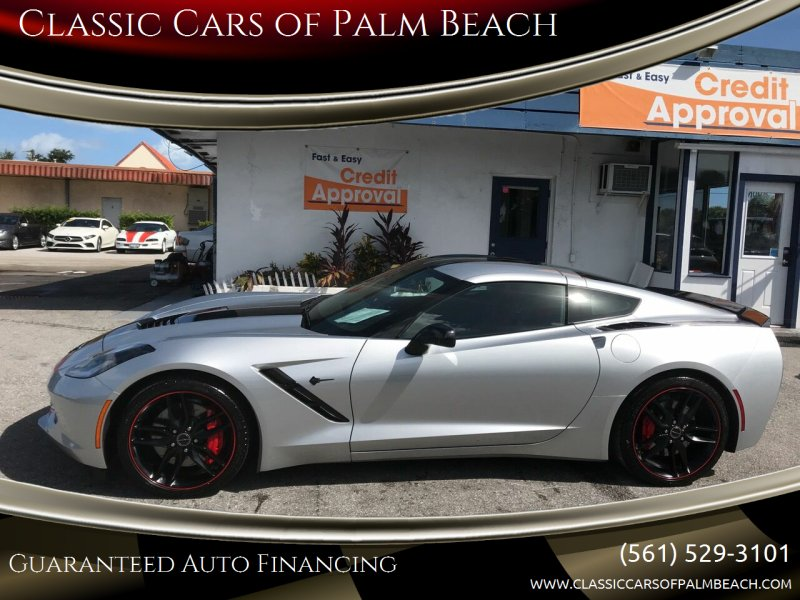 2015 Chevrolet Corvette for sale at Classic Cars of Palm Beach in Jupiter FL