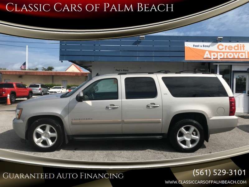 2007 Chevrolet Suburban for sale at Classic Cars of Palm Beach in Jupiter FL