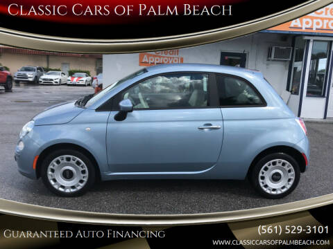 2013 FIAT 500 for sale at Classic Cars of Palm Beach in Jupiter FL