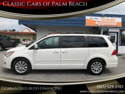 2012 Volkswagen Routan for sale at Classic Cars of Palm Beach in Jupiter FL