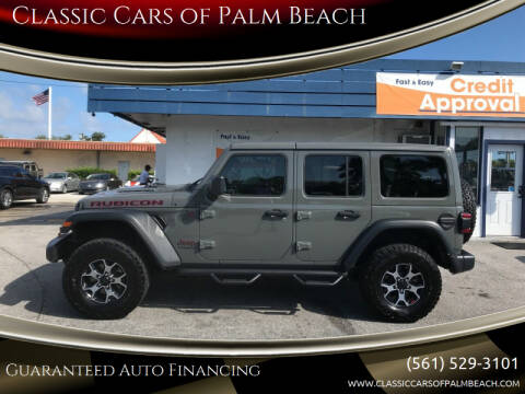 2019 Jeep Wrangler Unlimited for sale at Classic Cars of Palm Beach in Jupiter FL