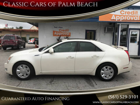 2008 Cadillac CTS for sale at Classic Cars of Palm Beach in Jupiter FL