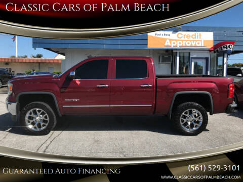 2014 GMC Sierra 1500 for sale at Classic Cars of Palm Beach in Jupiter FL