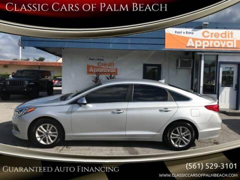 2015 Hyundai Sonata for sale at Classic Cars of Palm Beach in Jupiter FL