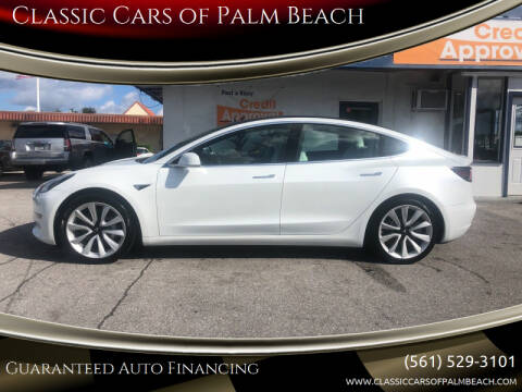2020 Tesla Model 3 for sale at Classic Cars of Palm Beach in Jupiter FL