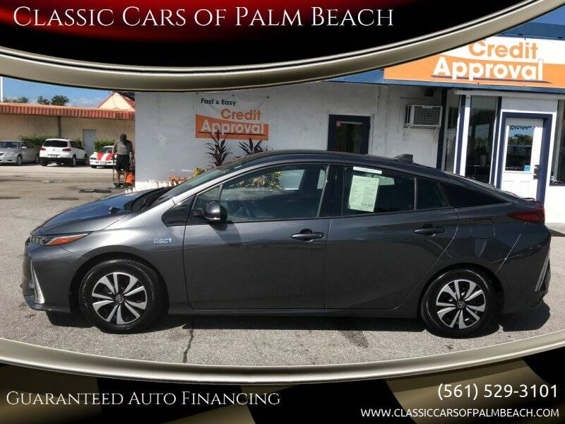 2017 Toyota Prius Prime for sale at Classic Cars of Palm Beach in Jupiter FL