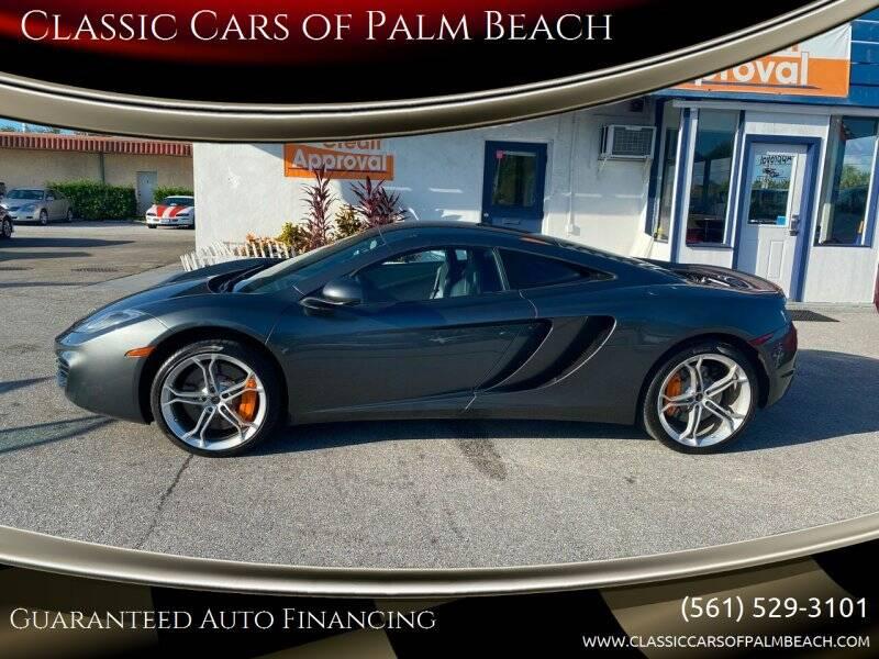 2013 McLaren MP4-12C for sale at Classic Cars of Palm Beach in Jupiter FL